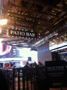 The Patio Bar is cool